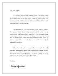 Awesome Collection Of Cover Letter For Lecturer In English Brilliant