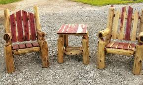 log furniture ideas. Log Furniture Plans   Recycled Things Ideas