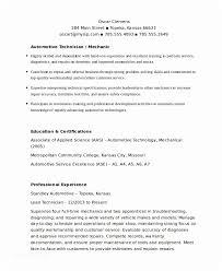Auto Mechanic Resume Auto Mechanic Resume Example Orrhqgw