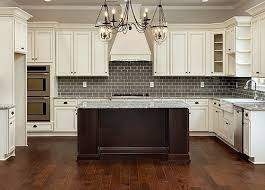 Image Wood Floors Country Kitchens Cumberland Antique White Country Kitchen Cabinets