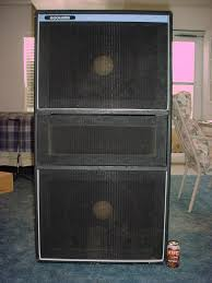 Anyone ever seen an Ampeg 4X15 cab? | TalkBass.com