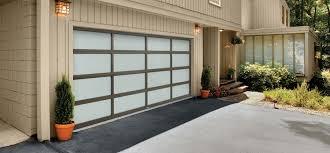 full view garage doors contemporary elegance