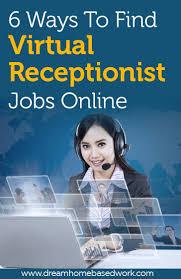 6 ways to find virtual receptionist jobs