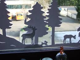 Winterfenster Nadelspielereien