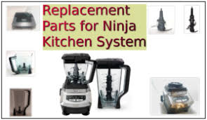 replacement parts for ninja kitchen