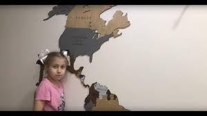 <b>Деревянная карта мира</b> на стену Woodpacker.decor видеоотзыв ...