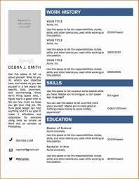 Free Resume Format Template Lcysne Com