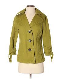 Merona Size Chart Details About Merona Women Green Coat Sm