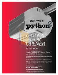 python 2 garage door openerPython2 Garage Door Opener  Wageuzi