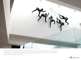 popular climbing men wall decor architecture interior design art event awesome wall art man climbing rope