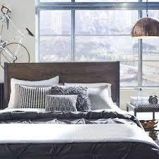 industrial bedroom furniture. Barnside Metro 2-Piece Driftwood Twin Bedroom Set Industrial Furniture
