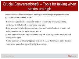 crucial conversations summary crucial conversations and influencer