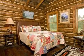 Log Cabin Bedroom Comfortable Classic Cabin Bedroom Decorating Ideas Furniture