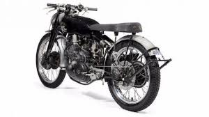 classic vincent motorcycle auctioned for record setting 929 000