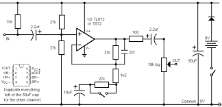 need help to build a microphone preamplifier page