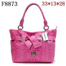 Cheap And Fashion Coach Embossed Bowknot Signature Medium Pink Totes DDT  Are Here!