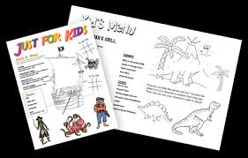 Menu Designs Kids Menu Kid Menu Designs Kid Menu Templates Musthavemenus