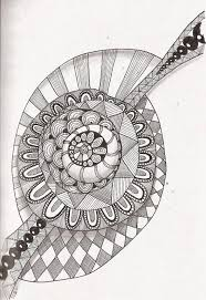 If you want to created your own zentangles, it's very easy ! Free Printable Zentangle Coloring Pages For Adults