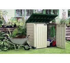 max 1200l storage shed