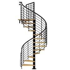 diy outdoor spiral staircase and arke oak xtra in black spiral staircase kit