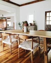 a very homely dining area