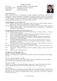 Sample Resume For Graduate School Sample Resume For Resume Sample