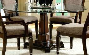dining table design with glass top. 42 round glass top pedestal dining table furniture design with