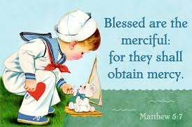 Free Printable Christian Message Cards – Blessed are the merciful | Free  Christian Message Cards
