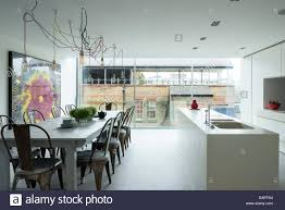 Lights In The Kitchen Pendant Lights In Kitchen Stock Photos Pendant Lights In Kitchen