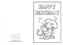 You can find lots of printable pages here to decorate and give to your. Dora Happy Birthday Coloring Pages Page 6 Line 17qq Com