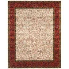 persian legend ivory rust 8 ft x 10 ft area rug