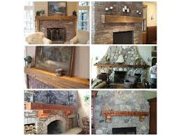 old distressed recycled and reclaimed rustic barn wood fireplace mantels