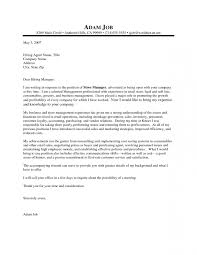 Cover Letters Samples Retail Cover Letter Samples And Writing Guide