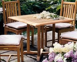 kingsley bate evanston teak dining table 36 by kingsley bate