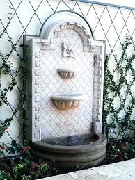 outdoor wall water fountains 5 good looking outside wall water fountains outdoor wall water fountains outdoor