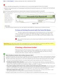 Creating A Business Letter With A Letterhead And Table Pdf