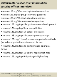 15 security objectives for resume