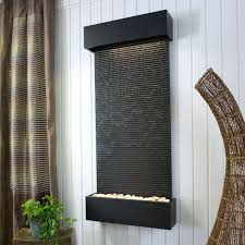 outdoor water wall indoor waterfalls for how to build outside