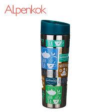 """Alpenkok AK 04021A <b>Термокружка вакуумная 400</b> мл """"Йога ..."""