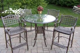 white iron patio furniture. white wooden patio furniture metal used wrought iron chair with circle glass table
