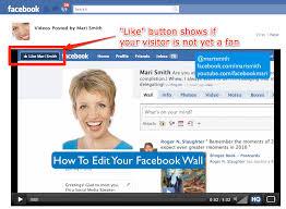 screenshot shows exle of an embedded facebook video on an external site