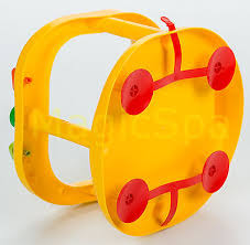 2 of 3 infant baby bath tub ring seat keter yellow from usa new in box
