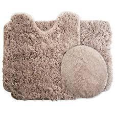 bathroom rugs set 3 piece super plush non slip bath rug sets canada target