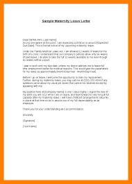 12 Maternity Leave Application Letter For Office Edu Techation