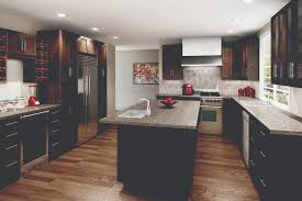 Most Popular Flooring For Kitchens Cyprus Chocolate Pear Dark Cabinets Are Great For Large And Open