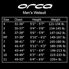 Orca Apex 2 Size Chart Orca Apex 2 Fullsleeve Mens Wetsuit 300 Obo Gar B Age Sale