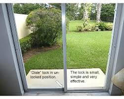 patio sliding door lock gatehouse chrome finish sliding patio door cylinder lock installation