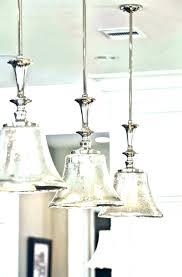 track light pendant polished silver