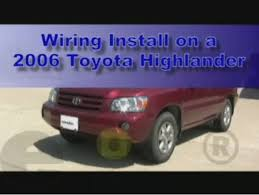 which trailer wiring harness for 2007 toyota highlander etrailer com 2007 Toyota Highlander Trailer Wiring Harness trailer wiring harness installation 2006 toyota highlander 2010 toyota highlander trailer wiring harness