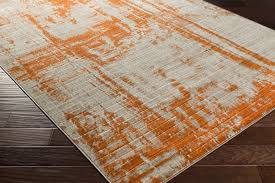 outstanding orange area rug roselawnlutheran intended for and grey modern orange and gray rug